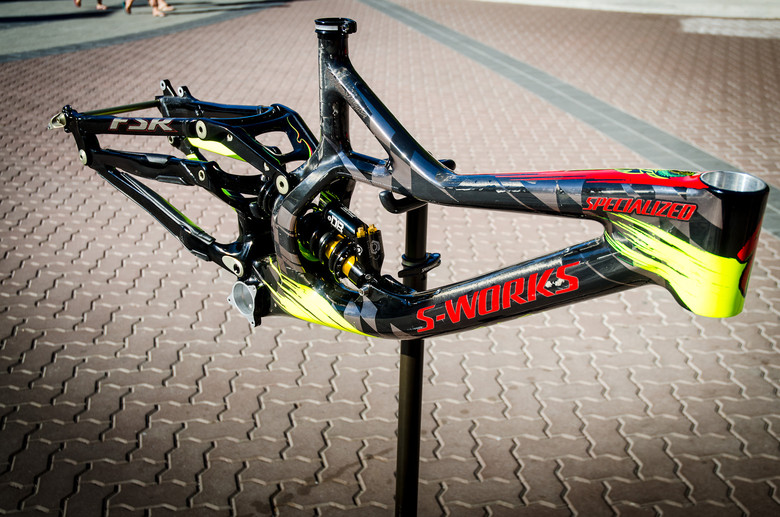 Limited Edition 2013 Specialized / Troy Lee Designs S-Works Demo 8 Carbon Frame - First Look: Limited Edition 2013 Specialized / Troy Lee Designs Frames - Mountain Biking Pictures - Vital MTB