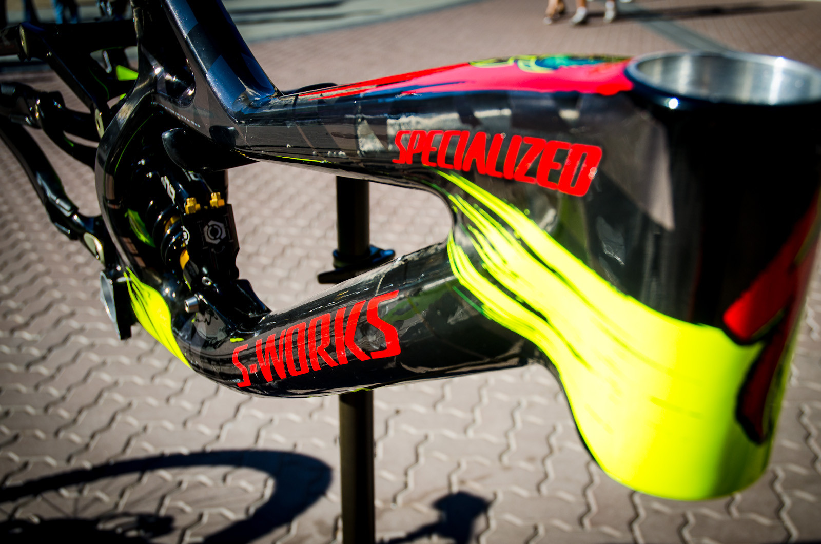 Top Of The Line - First Look: Limited Edition 2013 Specialized / Troy Lee Designs Frames - Mountain Biking Pictures - Vital MTB