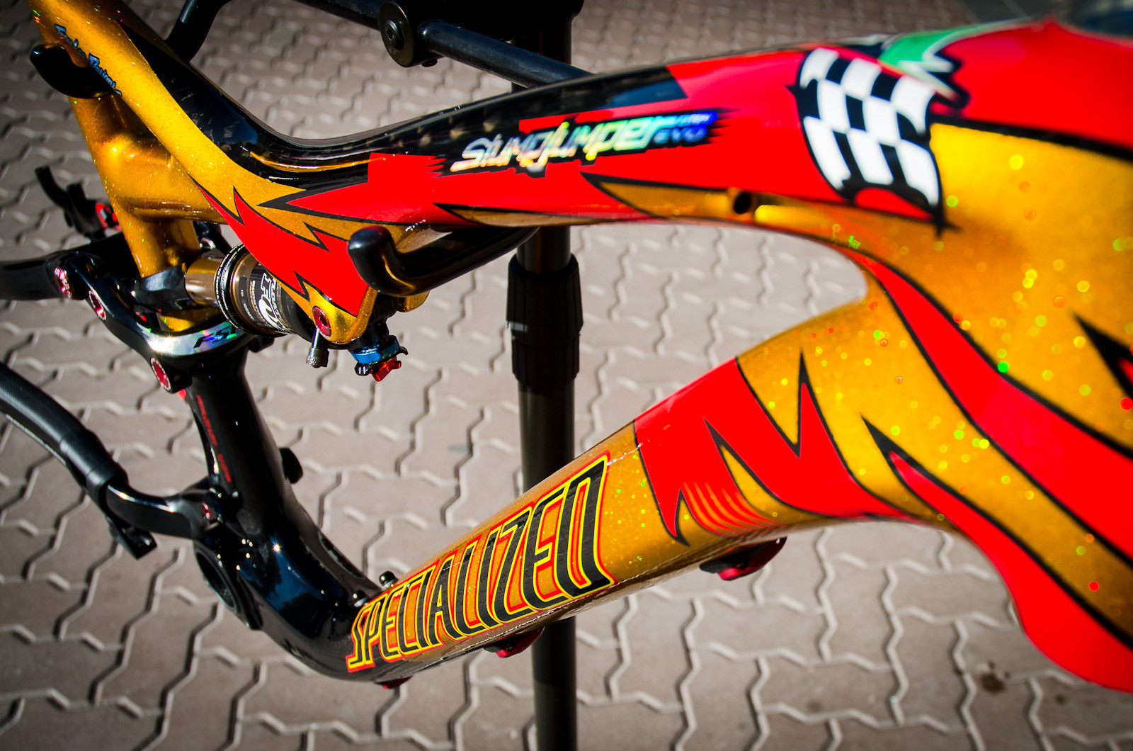 Made To Haul - First Look: Limited Edition 2013 Specialized / Troy Lee Designs Frames - Mountain Biking Pictures - Vital MTB