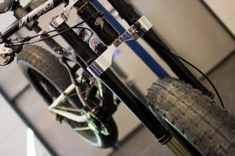Inverted Only - Downhill Fat Bike Fork - 2013 Downhill Bikes at Eurobike 2012 - Mountain Biking Pictures - Vital MTB