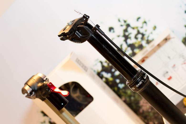 2013 KS E Ten Adjustable Seatpost - 2013 Mountain Bike Components at Eurobike 2012 - Mountain Biking Pictures - Vital MTB
