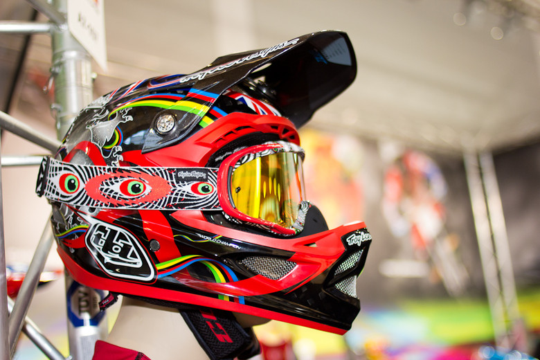 2013 Troy Lee Designs D3 Peaty Helmet 2013 Apparel And