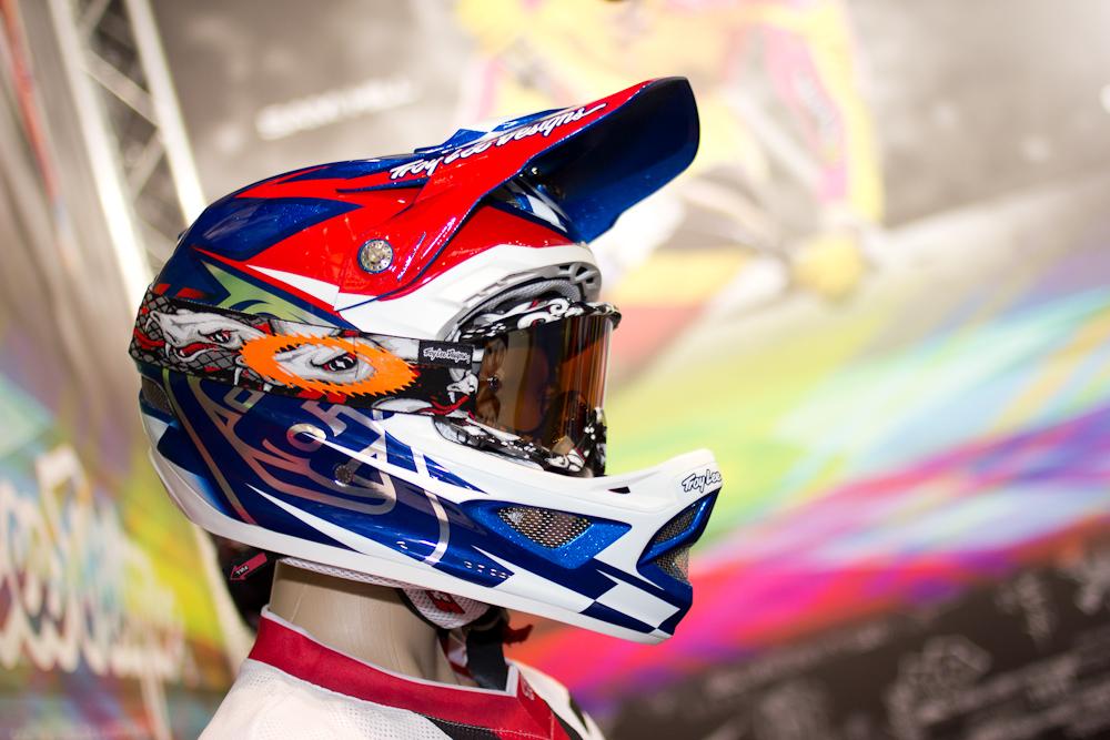 2013 Troy Lee Designs D3 Team Helmet - 2013 Apparel and