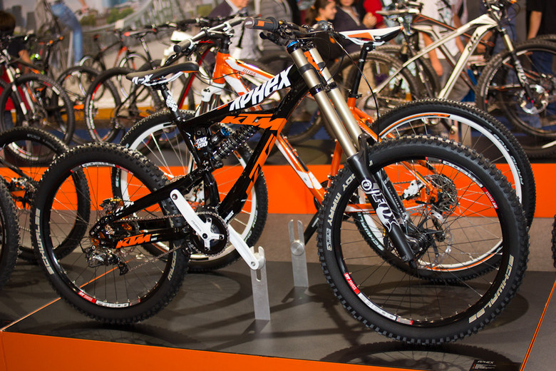 2013 KTM Aphex DH Bike - 2013 Downhill Bikes at Eurobike 2012 - Mountain Biking Pictures - Vital MTB