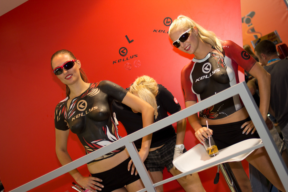 Nice... Jerseys (cough cough) - Eurobike 2012 Randoms - Mountain Biking Pictures - Vital MTB