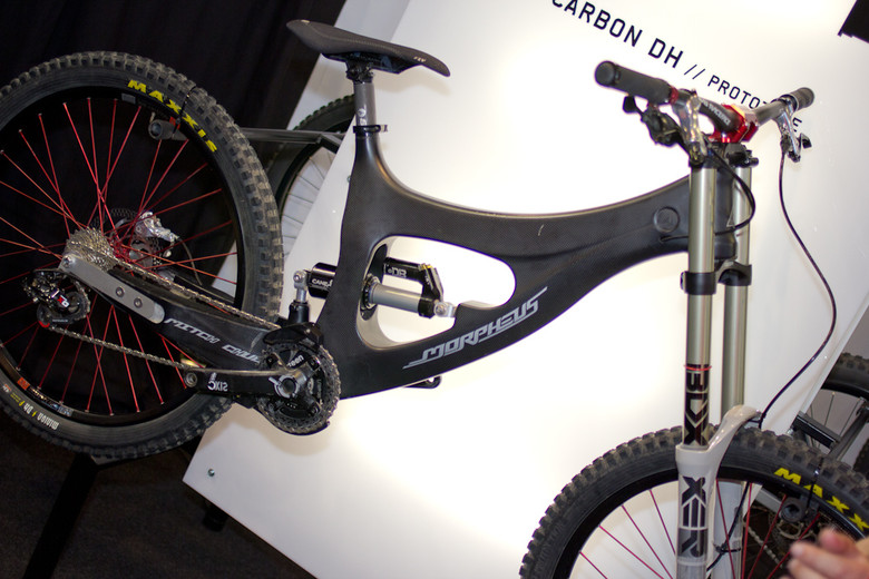 2013 Morpheus Prototype DH BIke - 2013 Downhill Bikes at Eurobike 2012 - Mountain Biking Pictures - Vital MTB