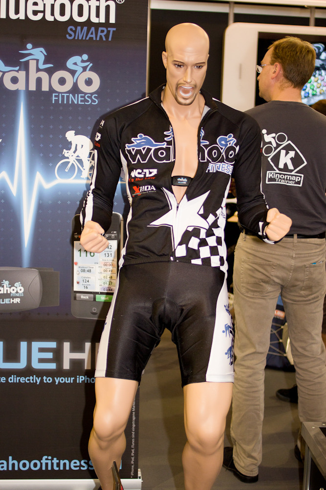 Most Stoked Mannequin Ever - Eurobike 2012 Randoms - Mountain Biking Pictures - Vital MTB