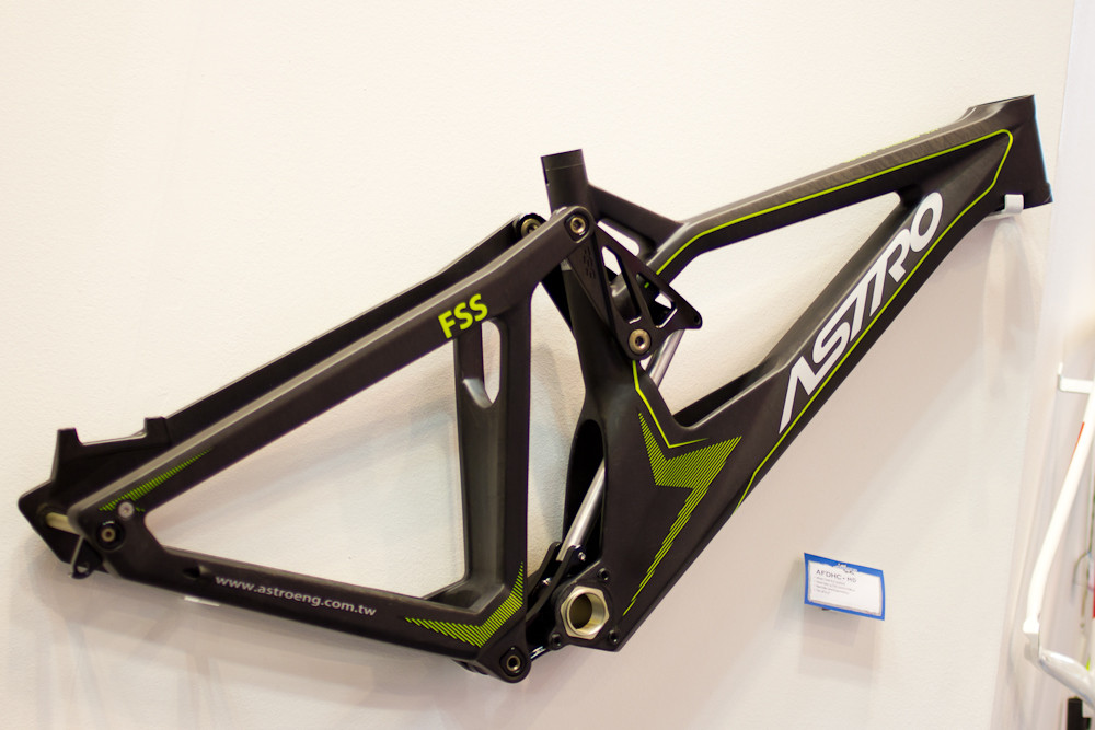 2013 Astro AFDHC Downhill Frame - 2013 Downhill Bikes at Eurobike 2012 - Mountain Biking Pictures - Vital MTB