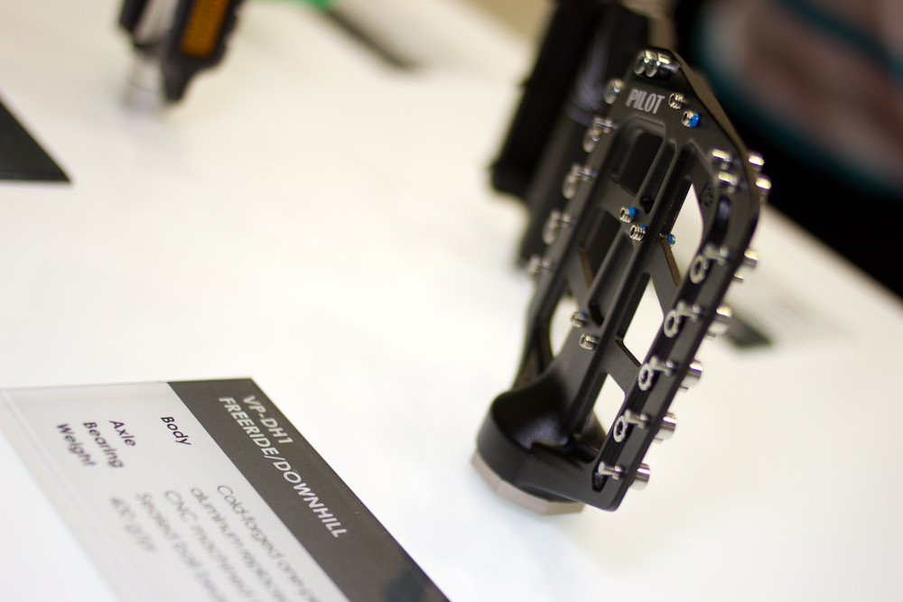 VP Pilot Super Flat Pedals - 2013 Mountain Bike Components at Eurobike 2012 - Mountain Biking Pictures - Vital MTB