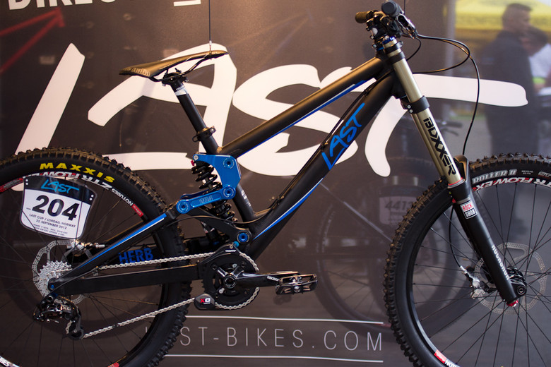 2013 Last Herb 204 DH Bike - 2013 Downhill Bikes at Eurobike 2012 - Mountain Biking Pictures - Vital MTB