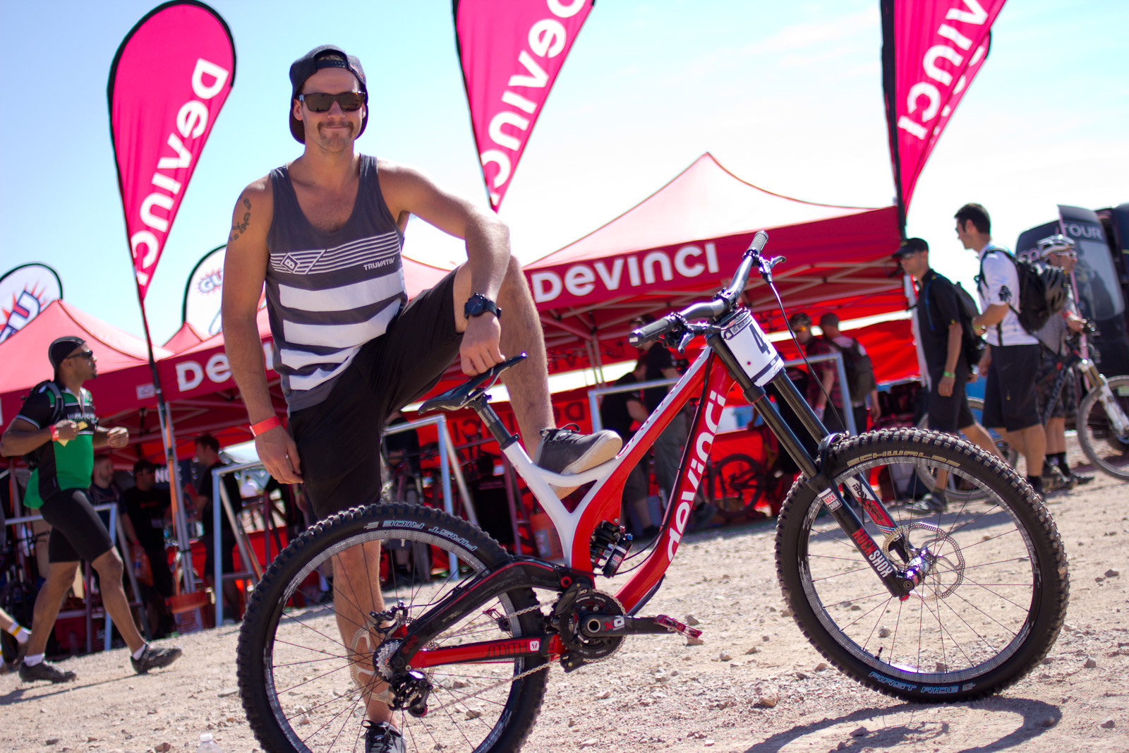 Stevie's World Cup Winning Devinci Wilson - 2013 Products from Interbike 2012, Part 2 - Mountain Biking Pictures - Vital MTB