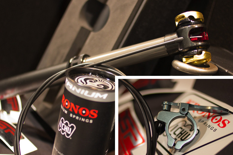 2013 DSP Big Horn Adjustable Seatpost - 2013 Products from Interbike 2012, Part 3 - Mountain Biking Pictures - Vital MTB