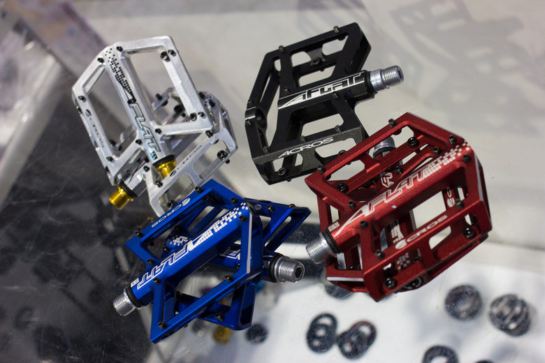 Acros A-Flat SL Pedals - 2013 Products from Interbike 2012, Part 3 - Mountain Biking Pictures - Vital MTB