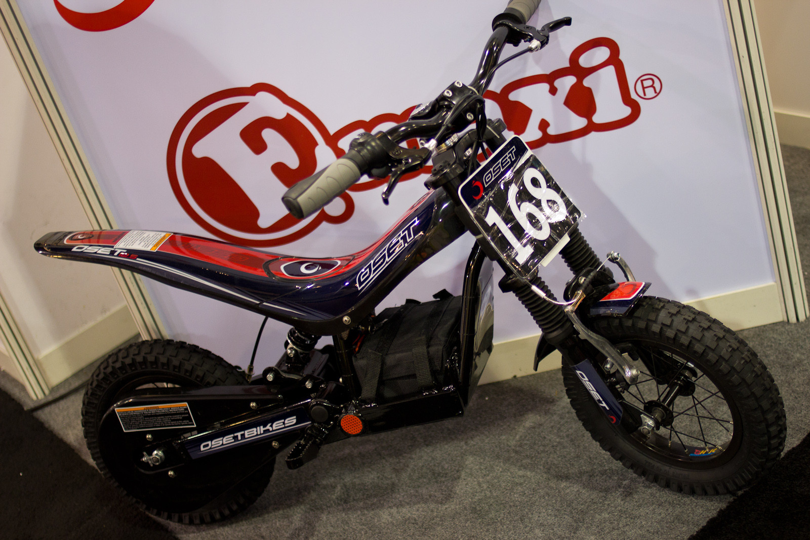 Mini Trials Moto Bike - Random, Wacky, and Weird from Interbike 2012  - Mountain Biking Pictures - Vital MTB
