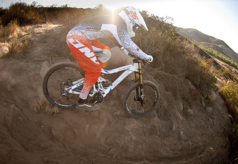 Testing the 2012 Pivot Phoenix Downhill Bike - Testing the 2012 Pivot Phoenix Downhill Bike - Mountain Biking Pictures - Vital MTB