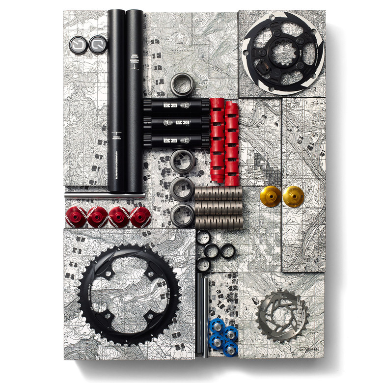 #6: Make Tracks by Liza Julien - Art From Bike Parts? Vital MTB's 10 Favorite SRAM pART PROJECT Pieces - Mountain Biking Pictures - Vital MTB