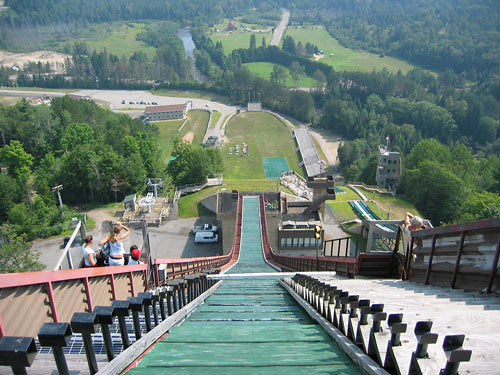 #ThrowbackThursday - Igor Obu Jumps Mountain Bike 138.2 Feet Off a Ski Jump in 1999 - bturman - Mountain Biking Pictures - Vital MTB