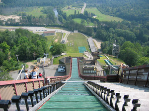 #ThrowbackThursday - Igor Obu Jumps Mountain Bike 138.2 Feet Off a Ski Jump in 1999