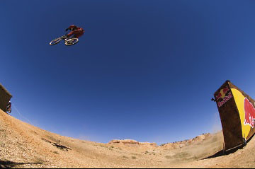 #ThrowbackThursday - Nathan Rennie Jumping 121.2 Feet in 2005 - bturman - Mountain Biking Pictures - Vital MTB