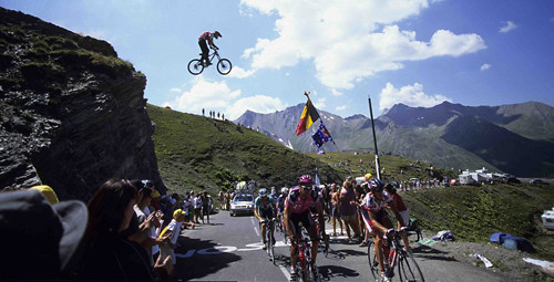 #ThrowbackThursday - Dave Watson's Tour de France Road Gap, 2002 - bturman - Mountain Biking Pictures - Vital MTB