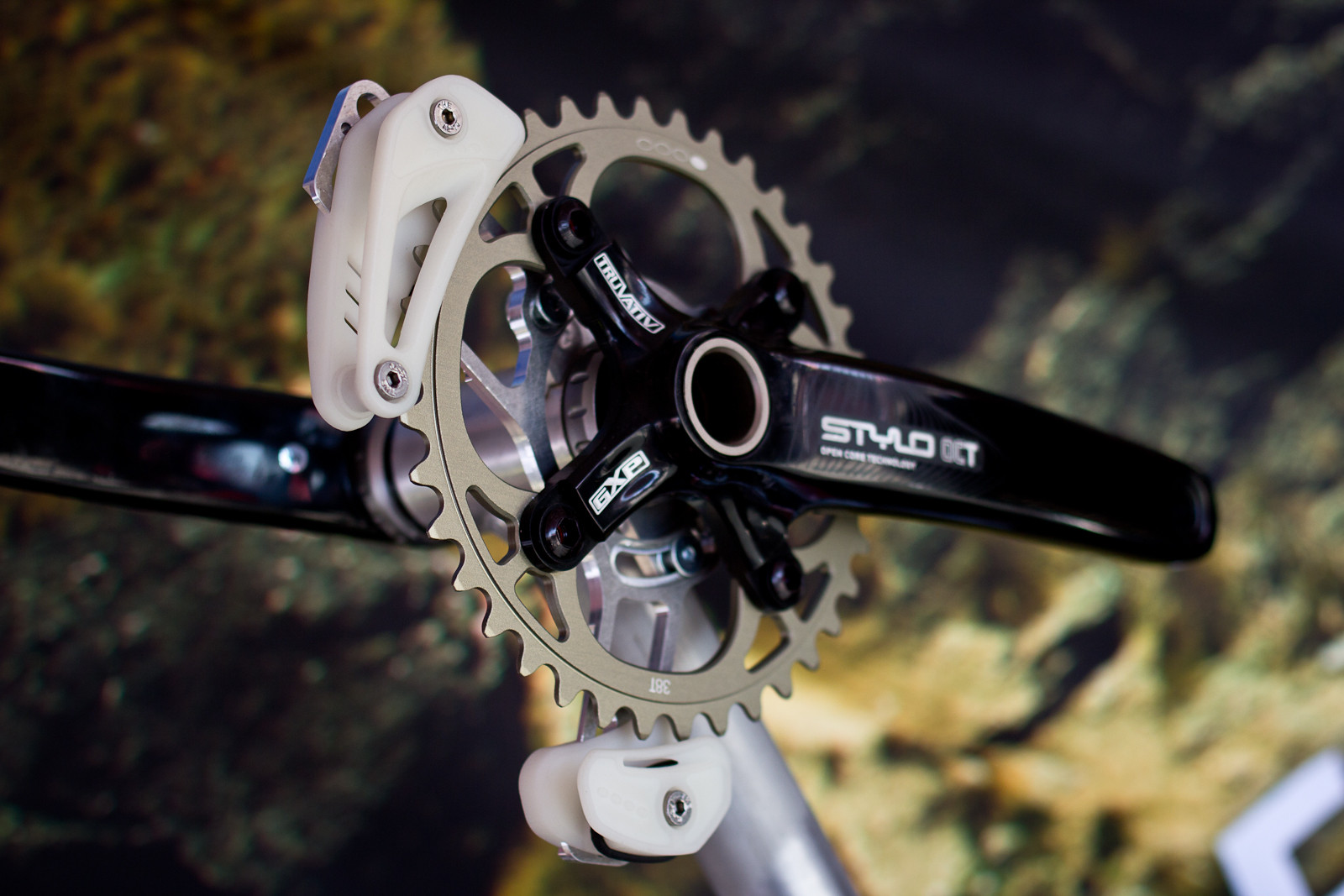 Prototype Gamut TRAILs Chainguide - Sea Otter Classic - 2013 Sea Otter Classic Pit Bits - 1st Edition - Mountain Biking Pictures - Vital MTB