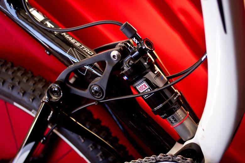 RockShox XLoc Full Sprint Dual Lockout - Sea Otter Classic - 2013 Sea Otter Classic Pit Bits - 1st Edition - Mountain Biking Pictures - Vital MTB