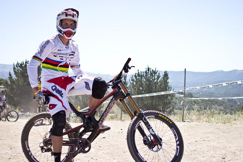 Greg Minnaar's Santa Cruz V10c - 2013 Sea Otter Pro Downhill Bikes - Mountain Biking Pictures - Vital MTB