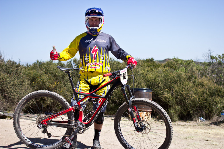Curtis Keene's Specialized Enduro 29er - 2013 Sea Otter Pro Downhill Bikes - Mountain Biking Pictures - Vital MTB