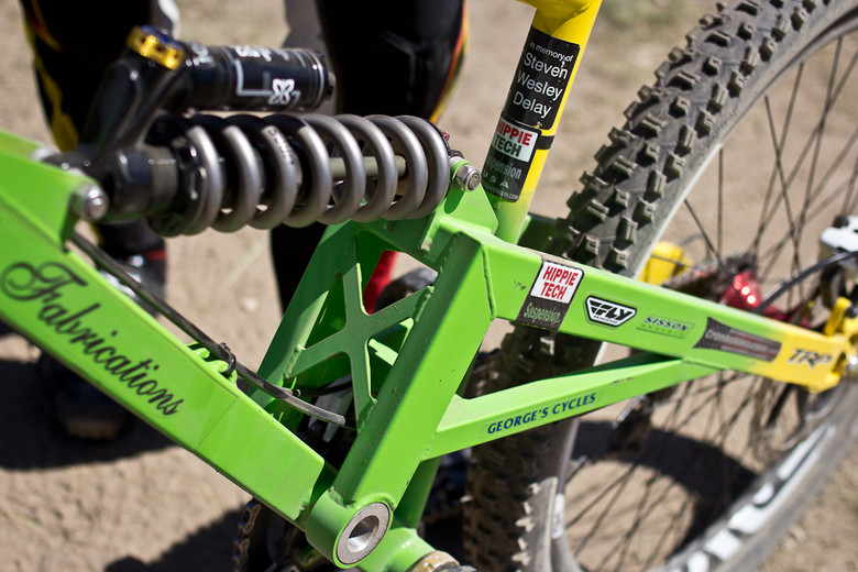 Jerry Vanderpool's Bicycle Fabrications - 2013 Sea Otter Pro Downhill Bikes - Mountain Biking Pictures - Vital MTB