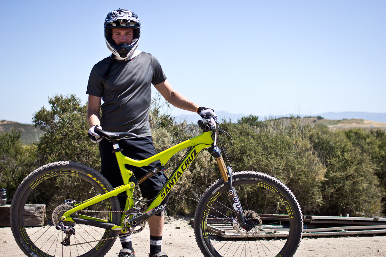 Evan Turpen's Santa Cruz Bronson - 2013 Sea Otter Pro Downhill Bikes - Mountain Biking Pictures - Vital MTB