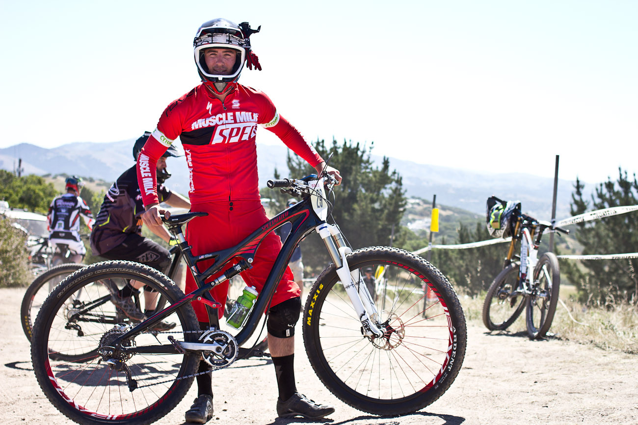 John Hauer's Specialized Carbon Camber - 2013 Sea Otter Pro Downhill Bikes - Mountain Biking Pictures - Vital MTB