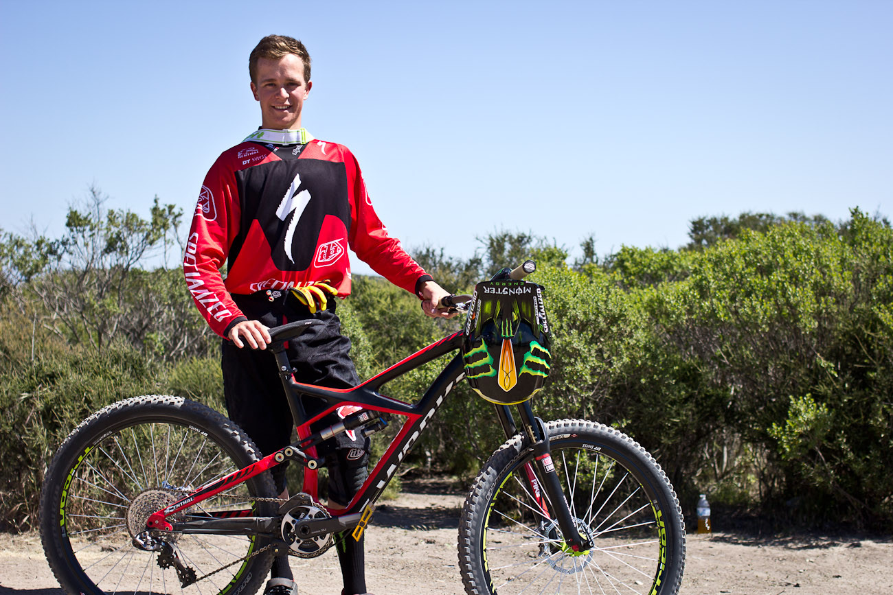 Troy Brosnan's Specialized Sworks Enduro - 2013 Sea Otter Pro Downhill Bikes - Mountain Biking Pictures - Vital MTB