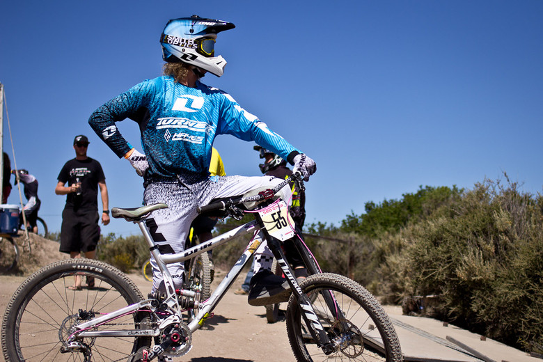 Captain Graeme Pitts's Turner DHR - 2013 Sea Otter Pro Downhill Bikes - Mountain Biking Pictures - Vital MTB