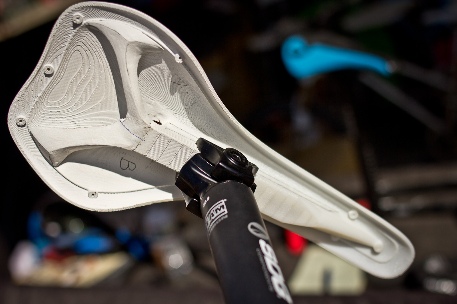 Prototype SDG I-Fly 2.0 Saddle - Sea Otter Classic - 2013 Sea Otter Classic Pit Bits - 2nd Edition - Mountain Biking Pictures - Vital MTB