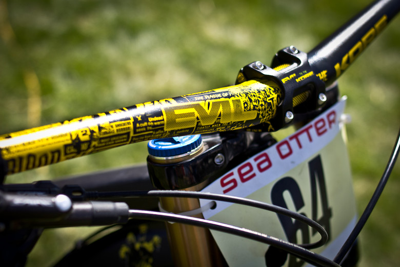 Custom Evil to the KORE Bars - Sea Otter Classic - 2013 Sea Otter Classic Pit Bits - 3rd Edition - Mountain Biking Pictures - Vital MTB