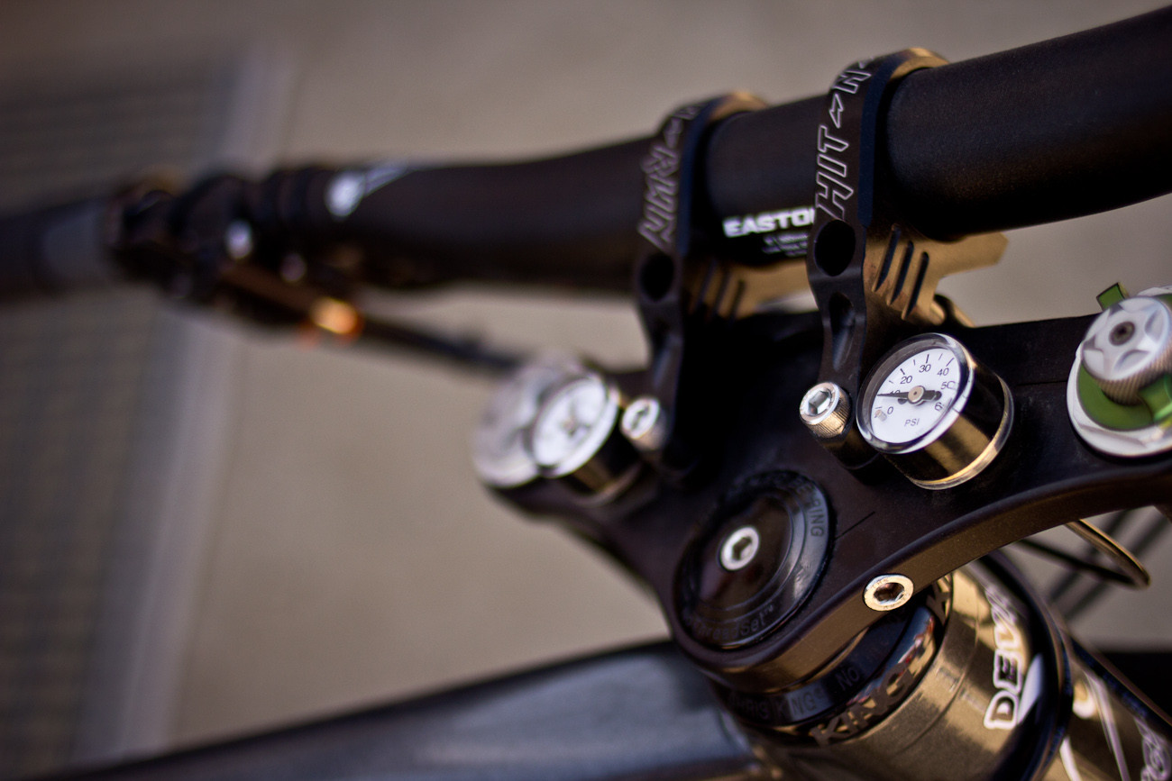 Adaptrac Tire Pressure Control System - Sea Otter Classic - 2013 Sea Otter Classic Pit Bits - 4th Edition - Mountain Biking Pictures - Vital MTB