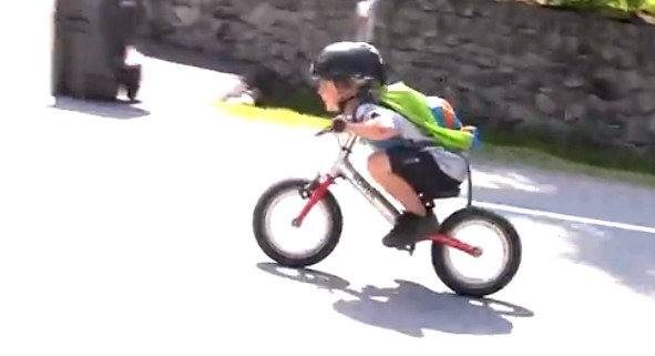 #ThrowbackThursday - Jackson Goldstone Goes to Kindergarten - bturman - Mountain Biking Pictures - Vital MTB