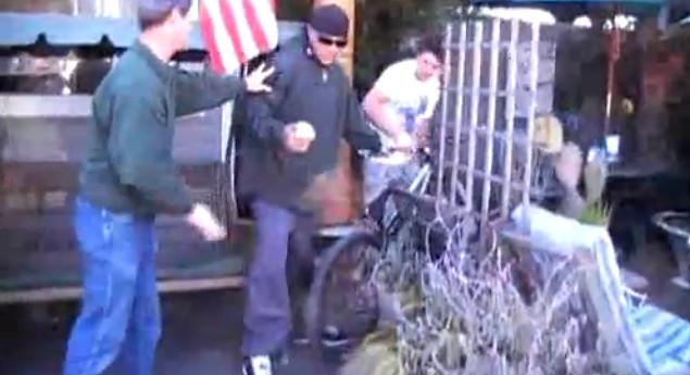 #ThrowbackThursday - Cam McCaul Busts a Bike Thief - bturman - Mountain Biking Pictures - Vital MTB