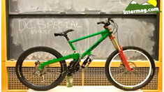 #ThrowbackThursday - Dave Camp Shreds His Homemade DC Special Downhill Bike - bturman - Mountain Biking Pictures - Vital MTB