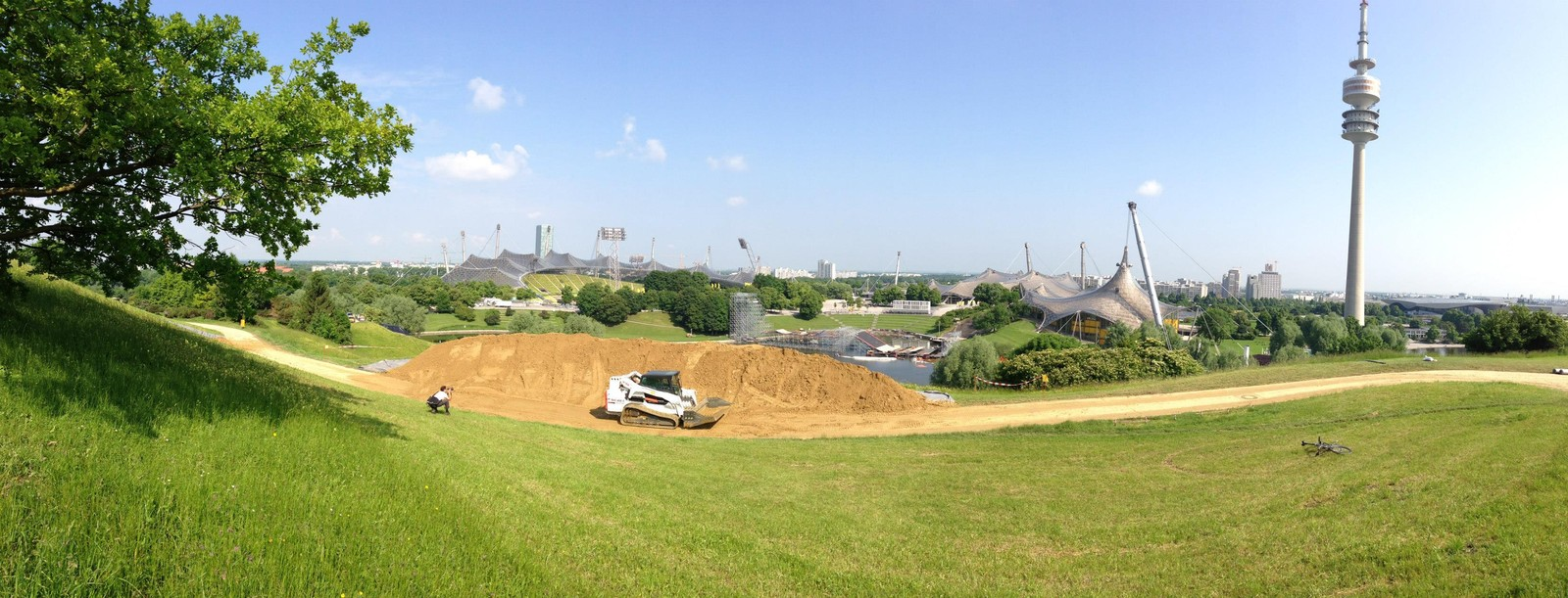 X-Games Munich Slopestyle Course Build - All Things X-Games Munich Slopestyle - Mountain Biking Pictures - Vital MTB