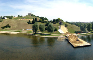 X-Games Munich Slopestyle Course Build