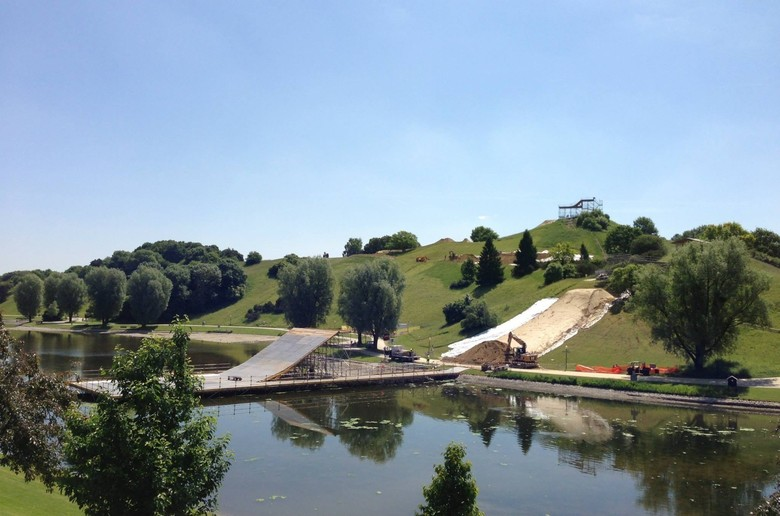 2013 X Games Mountain Bike Slopestyle Viewing Schedule and Course Preview Video - All Things X-Games Munich Slopestyle - Mountain Biking Pictures - Vital MTB