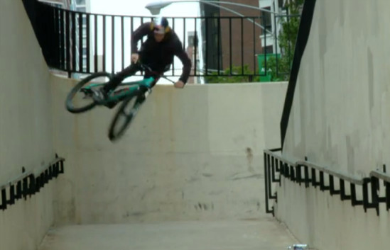 #ThrowbackThursday - Brandon Semenuk's 48 Hours in Chicago - bturman - Mountain Biking Pictures - Vital MTB