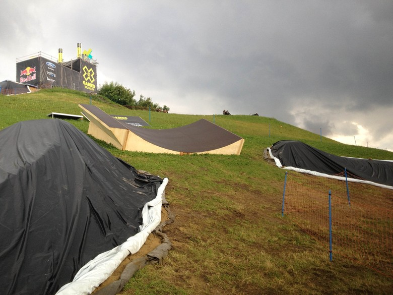 X Games Satellite Dish - All Things X-Games Munich Slopestyle - Mountain Biking Pictures - Vital MTB