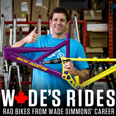 #ThrowbackThursday - Wade's Rides: Rad Bikes from Wade Simmons' Career - bturman - Mountain Biking Pictures - Vital MTB