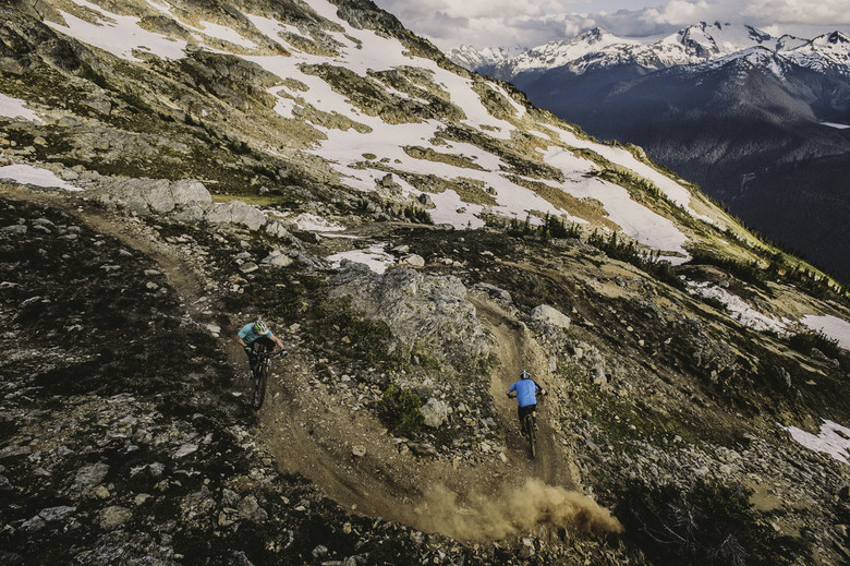 Wade Simmons and Andreas Hessler at the Top of the World, Whistler - First Look: 2014 Rocky Mountain Altitude Rally Edition - Get Rowdy! - Mountain Biking Pictures - Vital MTB