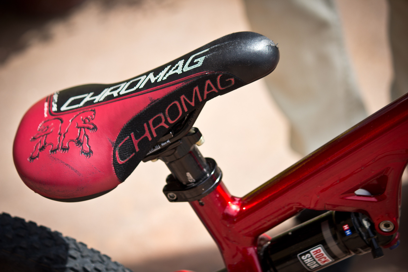 Cromag Saddle with Thomson Post - Winning Bike: Martin Söderström's Specialized P.Slope - Mountain Biking Pictures - Vital MTB