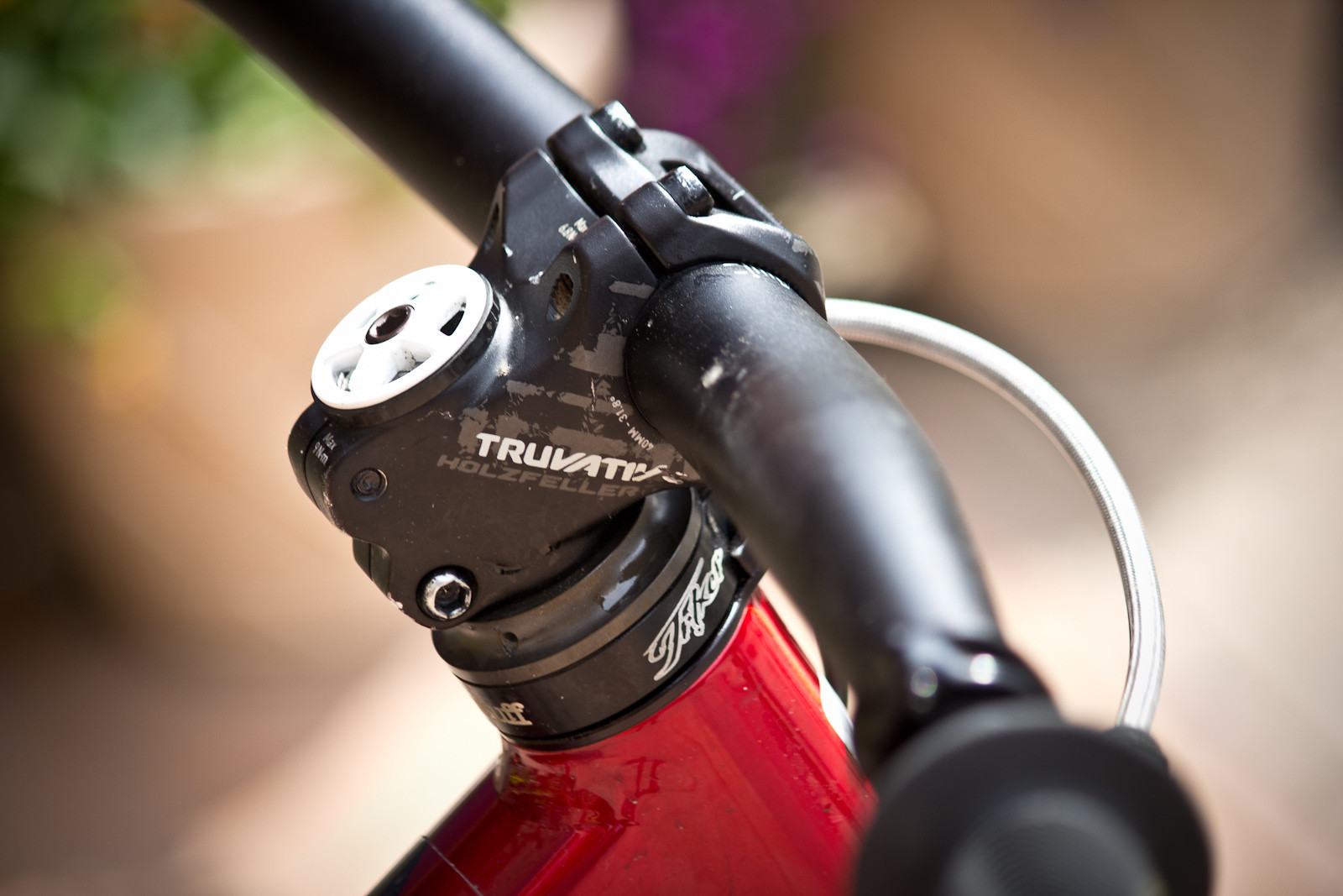 Truvativ Holzfeller Stem - Winning Bike: Martin Söderström's Specialized P.Slope - Mountain Biking Pictures - Vital MTB