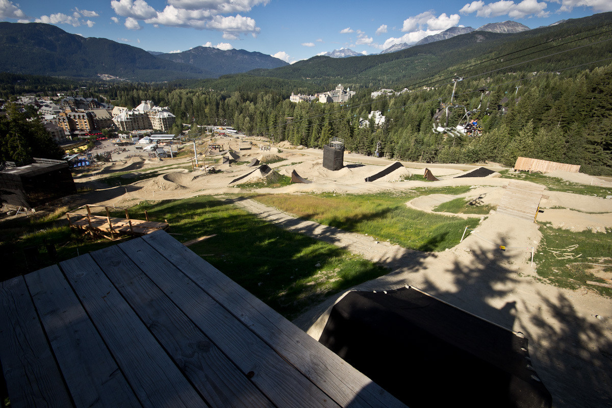 Crankworx: 2013 Red Bull Joyride Slopestyle Course Preview - Crankworx: 2013 Red Bull Joyride Slopestyle Course Preview - Mountain Biking Pictures - Vital MTB