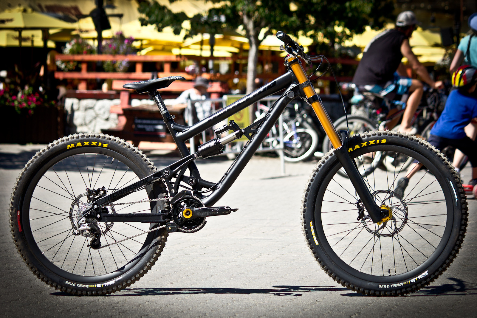 Sneak Peek: Banshee Darkside Prototype - Sneak Peek: Banshee Darkside Prototype - Mountain Biking Pictures - Vital MTB